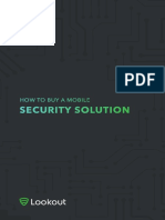 How to buy a mobile Security Solution