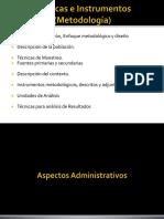 Aspectos Administrativos Del Proyecto de Investigacion