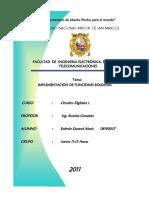 EXPERIMENTO 4 - IMPLEMENTACION DE FUNCIONES BOOLEANAS - CIRCUITOS DIGITALES.docx