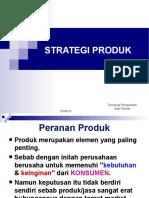 8. Strategi Produk