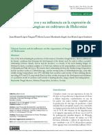 Factores Climaticos y Su Influencia en Enfermedades Fungicas Heliconias