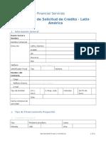1. Formulario de Solicitud de Credito (1)