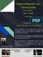 Hiperinflaciòn 2017 - 2018 en Venezuela