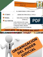 Diapositivas de La Organización Judicial
