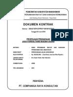 2. Cover Kontrak Konsultansi