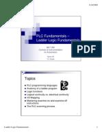 Ladder Logic Fundamentals PLC Tutorial