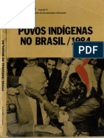 Aconteceu Especial (número 15) - Povos Indígenas no Brasil 1984