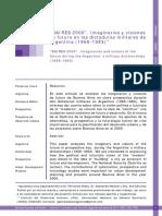 """""""BAIRES 2000"""". Imaginarios y visiones de futuro en las dictaduras militares de Argentina (1966-1983)"""