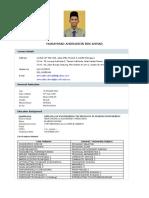 Amiruddin Ahmad CV 3.0