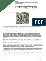 La Historia y Origen Descripciones de Personajes Indumentaria Cantos y Baile Del Congo en Panama