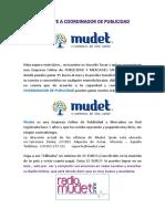 Aspirante a Coordinador de Publicidad Mudet (1)