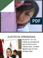 EL ADOLESCENTE REY
