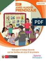 Guía Para El Trabajo Docente Con Las Familias Del Ciclo IV de Primaria