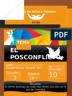 Infografía Club de Lectura Naranja