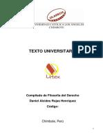 Texto Compilado - Filosofía Del Derecho