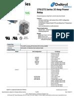 270-275 Series Data Sheet