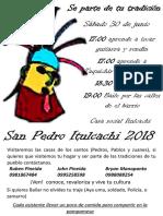 San Pedro Itulcachi 2018