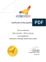 alexander mclennan-certificate