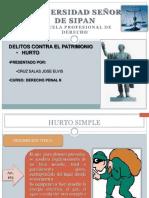 HURTO SIMPLE, AGRAVADO Y DE USO.pptx