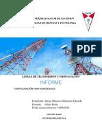 Configuracion Para Radioenlace