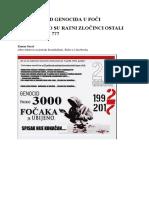 Genocid u Foči 1992. - 1995. (knjiga druga) - Kenan Sarač
