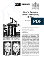 Pile Lateral Load Capacity