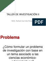 Taller de Investigacion -Problema-