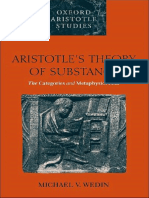 Wedin-Aristotle's Theory of Substance_ The Categories and Metaphysics Zeta (Oxford Aristotle Studies) (2000) (1).pdf