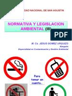 Normativa y Legislacion III