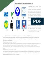 1 Símbolo Internacional de Acceso a Personas Con Discapacidad Física