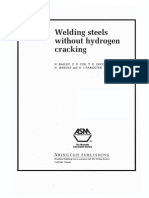 Welding Steels Without Hydrogen Cracking N.bailey F.R.coe T.G.gooch P.H.M.hart N.jenkins R.ja