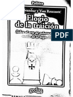 291169404 Elogio de La Traicion PDF