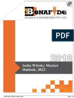 India Whisky Market Outlook, 2023