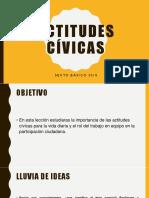 actitudes cívicas