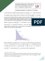 Convergencia de Integrales Impropias. Las Funciones Gamma y Beta de Euler (1)