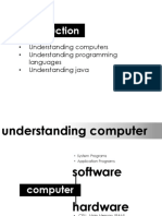 1 IntroTo Computer & Java
