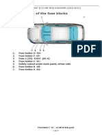 Volkswagen Passat b7 Fuse Box Diagram