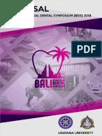 Bali International Dental Symposium i 2018