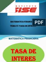 Matematica Financiera 5 - Sise