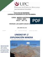 2.- Etapa de Exploración Minera