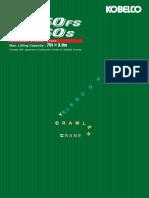 KOBELCO Crane TK750FS_S_colour Brochure