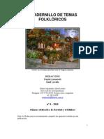 Cuadernillo de temas folklóricos 4