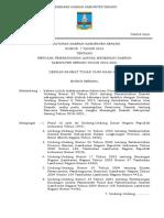Perda Nomor 7 Tahun 2016 Tentang Rpjmd Kabupaten Serang 2016-2021 Perda Saja (1)