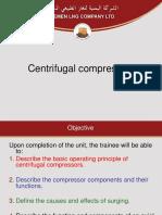 Centrifugal Comp