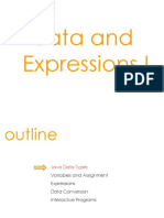 Data and Expression VL