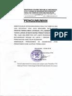 pengumuman PPL119
