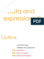 Data and Expression 3