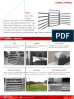 Corral Panels Catalog