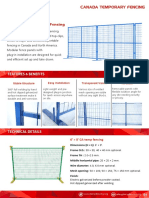 Canada Temporary Fencing Catalog