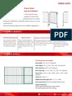 Fence Gate Catalog